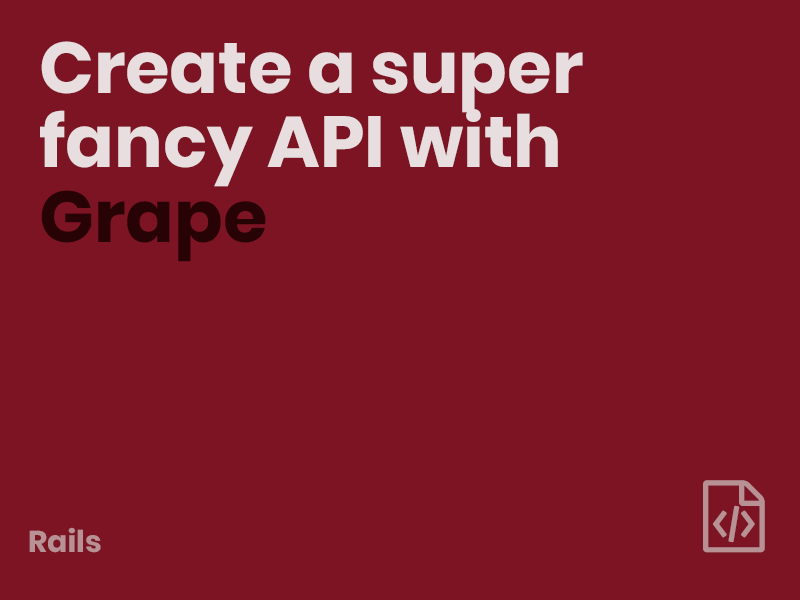 Api grape